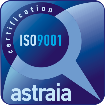 ISO9001 certification astraia